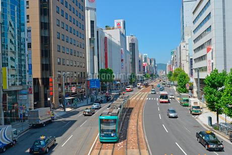 広島市相生通りの街並みの写真素材 [FYI02669203]