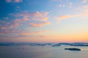 王子ヶ岳より瀬戸内海の写真素材 [FYI02669302]