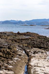 馬島から望む彦島大橋の写真素材 [FYI02669352]