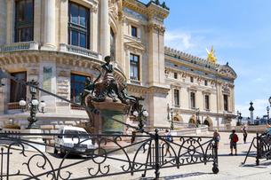 オペラ座ガルニエ宮、見学入口の写真素材 [FYI02669574]