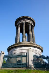 カールトン・ヒルのデュガルド・スチュアート記念碑の写真素材 [FYI02669692]