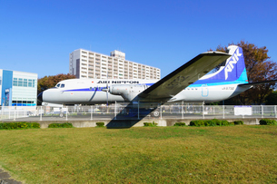 所沢航空記念公園 YS-11中型旅客機の写真素材 [FYI02669831]
