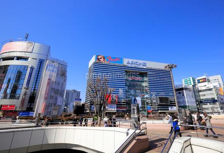 大宮駅西口の風景の写真素材 [FYI02669987]