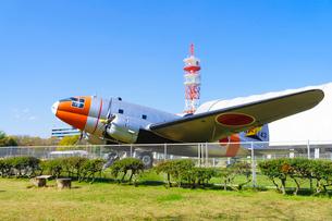 所沢航空記念公園 C-46A輸送機(天馬)の写真素材 [FYI02670175]