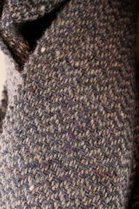 ウールの手織り布の写真素材 [FYI02670214]