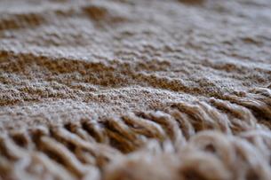 手織り布(ウール織物)の写真素材 [FYI02670257]
