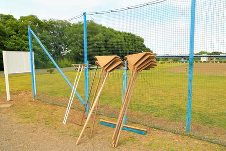 野球グラウンド整備品の写真素材 [FYI02670318]
