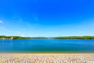 狭山湖の写真素材 [FYI02670352]