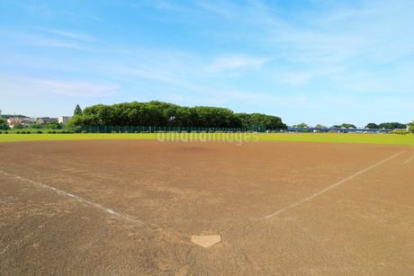 野球のグラウンドの写真素材 [FYI02670427]