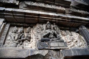 インドネシアの世界文化遺産プランバナン寺院群の写真素材 [FYI02670503]