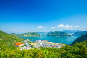 瀬戸内海とびしま海道の写真素材 [FYI02670538]