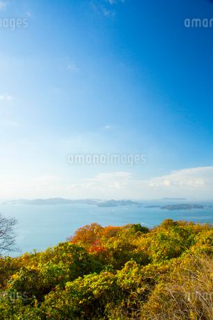 御嶽山より瀬戸内海の写真素材 [FYI02670603]