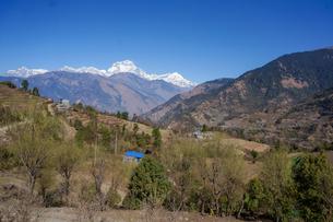 ネパール ゴレパニ・トレッキングコースの写真素材 [FYI02670611]