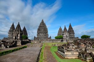 インドネシアの世界文化遺産プランバナン寺院群の写真素材 [FYI02670692]