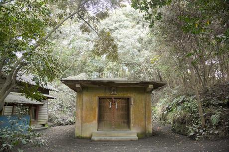 桜島の原五社神社の写真素材 [FYI02670704]