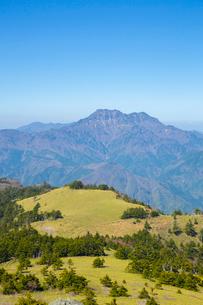 瓶ヶ森と石鎚山の写真素材 [FYI02670787]