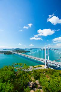 鷲羽山より瀬戸大橋の写真素材 [FYI02670822]