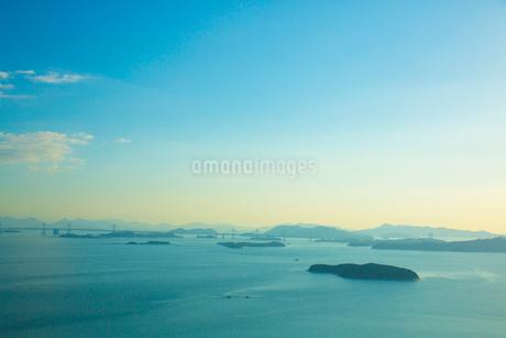 王子ヶ岳より瀬戸内海の写真素材 [FYI02670835]