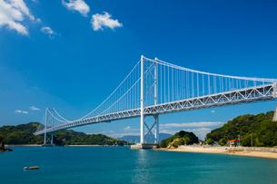 しまなみ海道因島大橋の写真素材 [FYI02670923]
