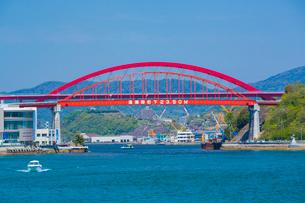 音戸大橋と第二音戸大橋の写真素材 [FYI02670935]