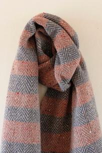 ウールの手織り布の写真素材 [FYI02670958]