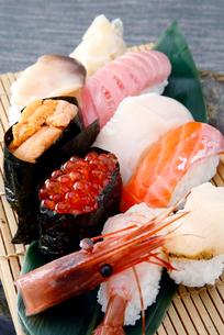 北海道寿司イメージの写真素材 [FYI02671009]