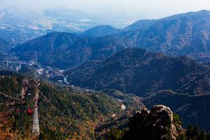 三重県 御在所岳の紅葉の写真素材 [FYI02671027]