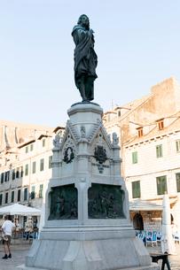 グンドリッチ広場、イヴァン・グンドリッチの像の写真素材 [FYI02671122]