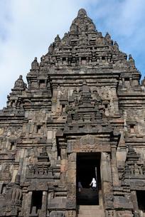 インドネシアの世界文化遺産プランバナン寺院群の写真素材 [FYI02671180]