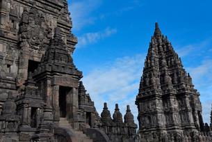インドネシアの世界文化遺産プランバナン寺院群の写真素材 [FYI02671206]