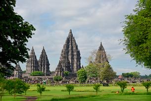 インドネシアの世界文化遺産プランバナン寺院群の写真素材 [FYI02671210]