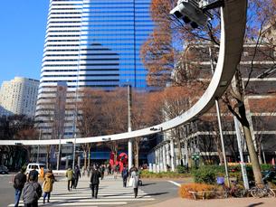 新宿の風景の写真素材 [FYI02671237]