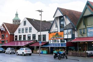 スタヴァンゲルの町並みの写真素材 [FYI02671279]