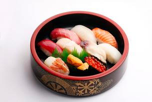 北海道寿司イメージの写真素材 [FYI02671333]