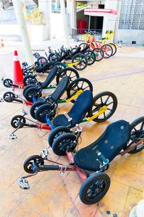 プトラジャヤ 観光用三輪自転車の写真素材 [FYI02671363]