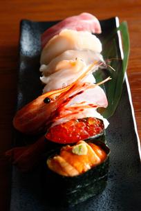 北海道寿司イメージの写真素材 [FYI02671371]