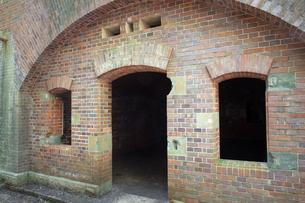 和歌山県友ヶ島の第三砲台跡の写真素材 [FYI02671517]