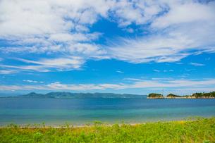 直島にて瀬戸内海の写真素材 [FYI02671547]