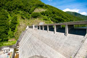 金山町神室ダムの写真素材 [FYI02671559]