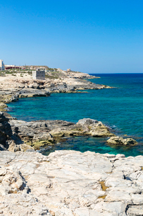 マルタ共和国,シャイラ(Xghajra)の海岸の写真素材 [FYI02671641]