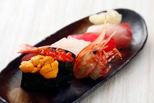 北海道寿司イメージの写真素材 [FYI02671742]
