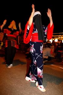 8月 秋田の西馬音内盆踊りの写真素材 [FYI02671820]