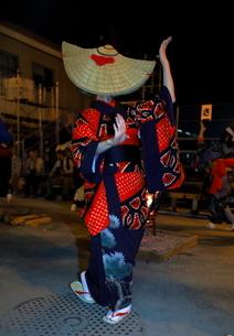 8月 秋田の西馬音内盆踊りの写真素材 [FYI02671853]
