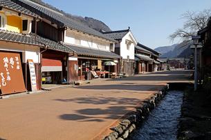 12月 熊川宿-歴史の町並み-の写真素材 [FYI02671861]
