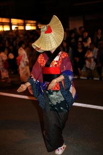 8月 秋田の西馬音内盆踊りの写真素材 [FYI02671885]