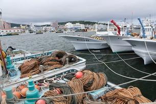 北海道の紋別港の写真素材 [FYI02671922]