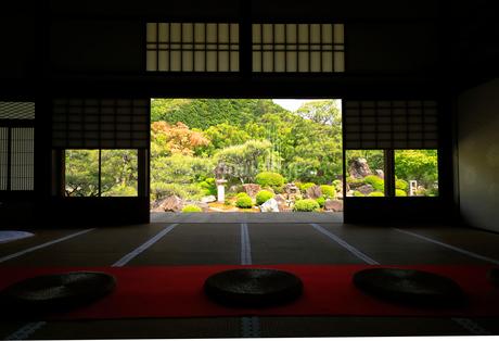5月 妙満寺の「雪の庭」の写真素材 [FYI02671956]