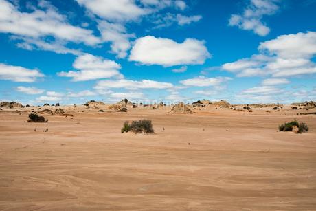 ムンゴ国立公園(Mungo National Park)の写真素材 [FYI02671989]