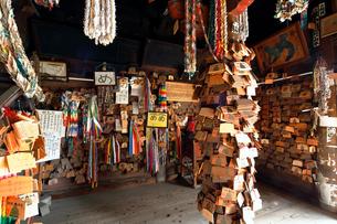 11月 医王山油山寺  遠州三山の一つ の写真素材 [FYI02671990]