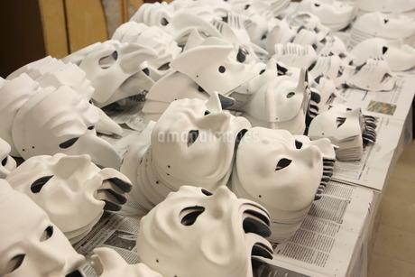 ベネチアの仮面制作の写真素材 [FYI02672082]